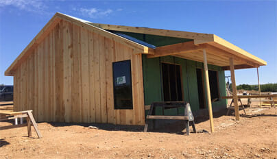 Doves Rest Cabins Announces opening of a New Constructed Home